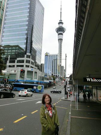 Queen Street: the skytower