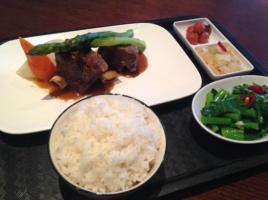 BaoDao Taiwanese Cuisine: Lunch Menu - Sweet and sour pork spare ribs