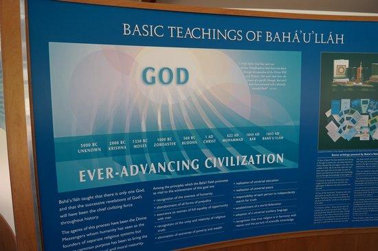 The Baha'i Temple: Ever advancing civilization
