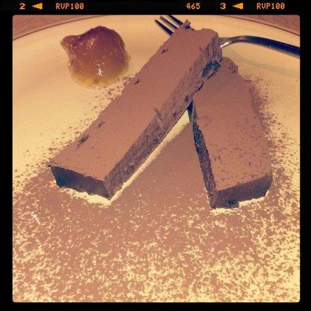 Taverna Pane e Vino: Lingotto al cioccolato, un tesoro da provare!