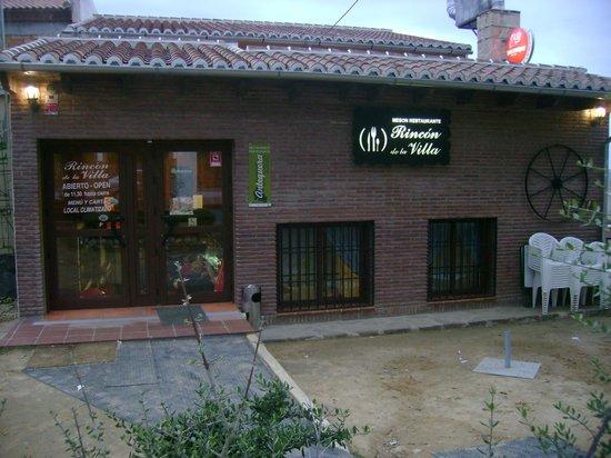 Restaurante Rincon De La Villa : Ambiente Familiar