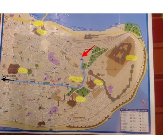 Adora Hotel: ecco la vera posizione, con una cartina evidenziata