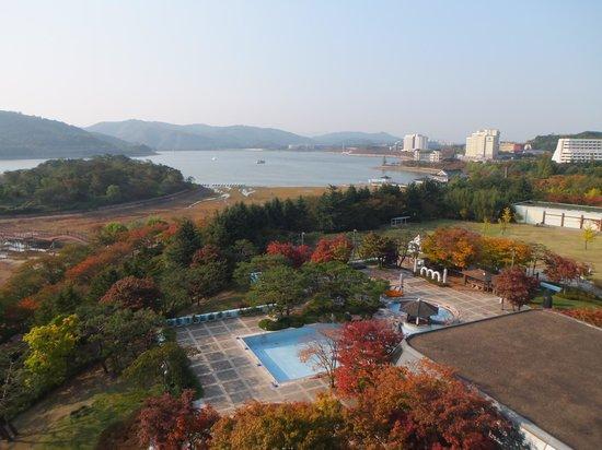 Hilton Gyeongju : 部屋からの眺め