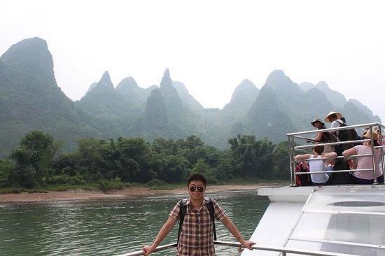 Guilin Yaoshan Mountain Scenic Resort: giuseppe feng
