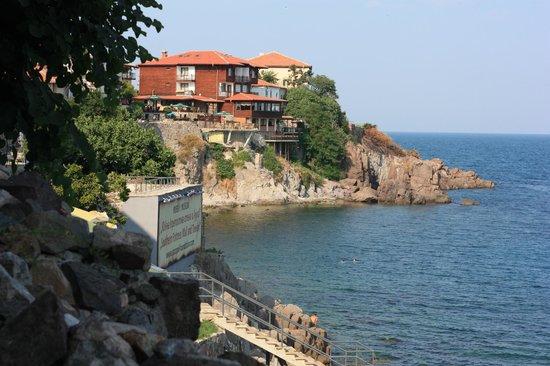Hotel Casa del Mare: Вид с балкона