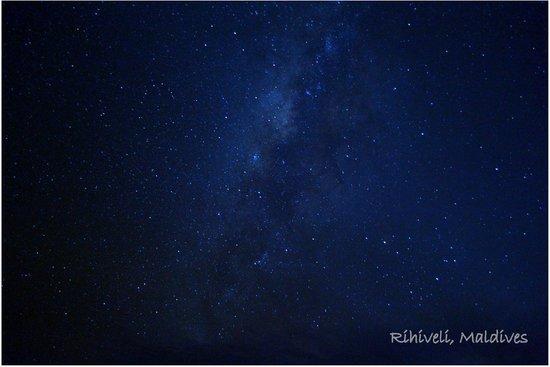 Rihiveli by Castaway Hotels & Escapes: Milky way at Rihiveli
