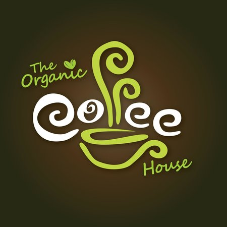 The Organic Coffee House: Logo
