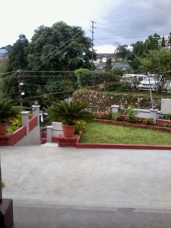 Cafe Shillong Bed & Breakfast: View from Room #201