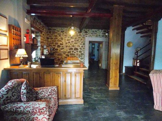Hotel La Balsa: recepcion
