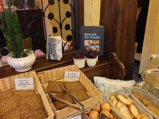 Hotel Restaurant Cheval Blanc : Das Kanzlerfrühstück