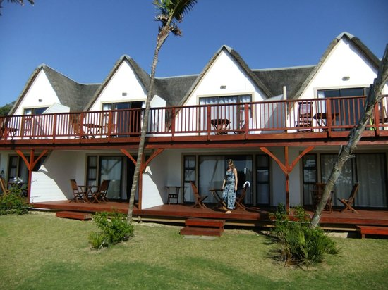 Crawford's Beach Lodge: View of the Honeymoon suites