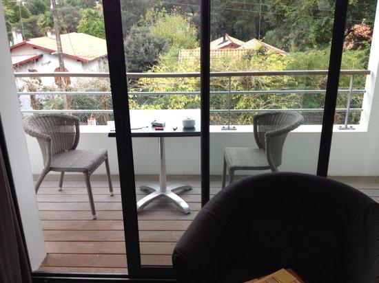 Hotel 202: Le balcon privatif