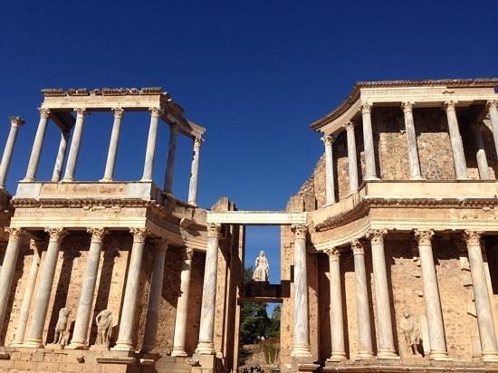 Anfiteatro Romano de Merida: Teatro romano Mérida