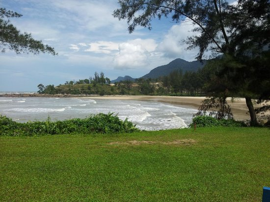 Damai Golf & Country Club: Hidden beach