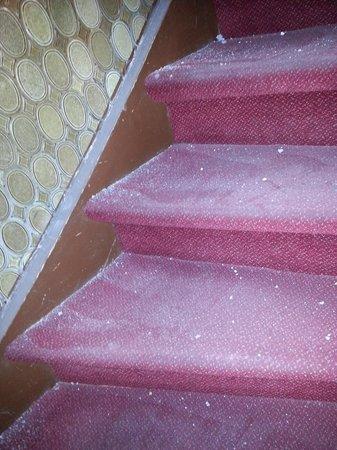 Bremer Hof: die Treppe zur ersten Etage