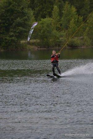 Dilsen-Stokkem, Bélgica: waterskiing