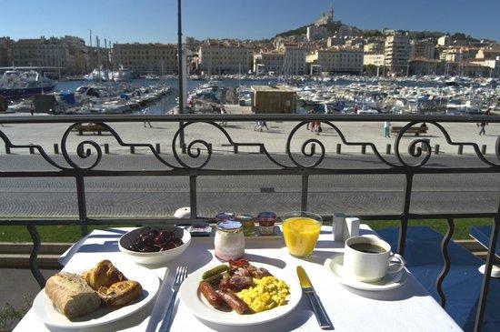 Residence du Vieux Port : la vue matinale