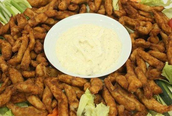 Legends Restaurant: Chicken and Fish Fingers