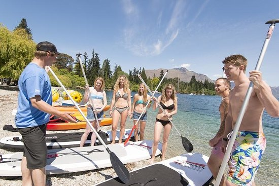 Watersports Queenstown: SUP Lesson