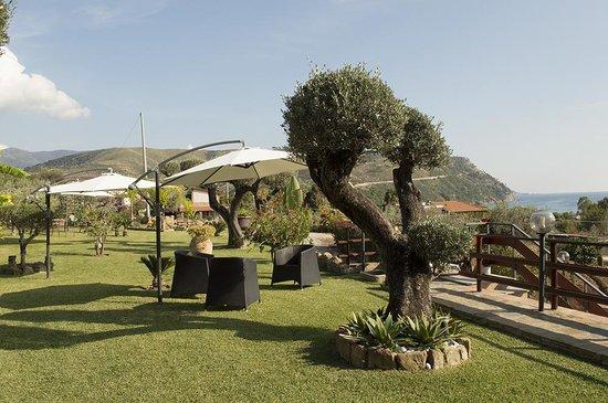B&B Villa Gorga: l ampio giardino