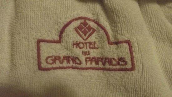 Hotel du Grand Paradis & Spa la Baita : accappatoio