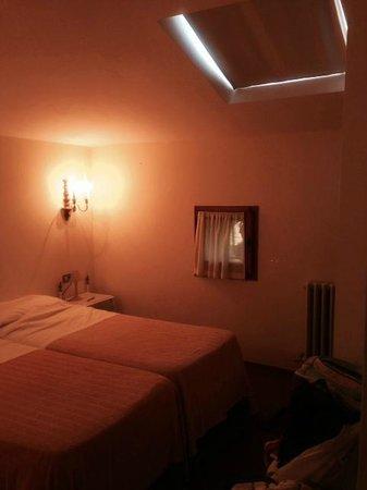 Hotel Villa Elda: La camera in mansarda