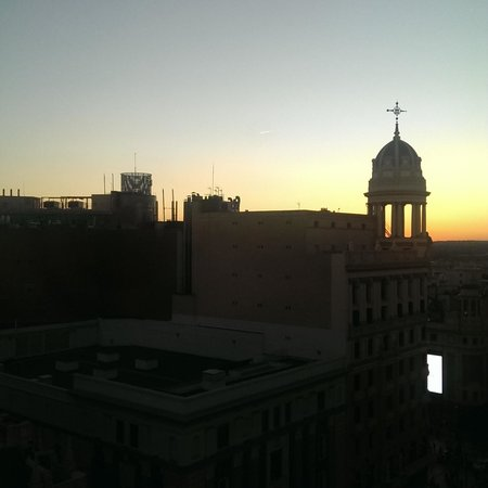 Hotel Atlantico: View of sunset from the rooftop