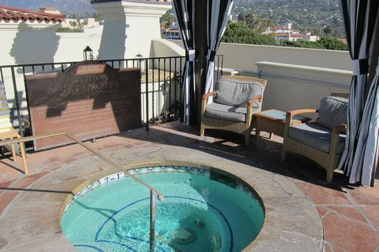 Kimpton Canary Hotel: Rooftop jacuzzi
