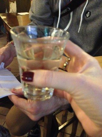 Trattoria Da Fiore : Wine from the tap