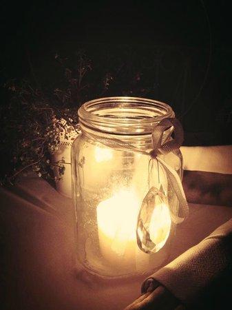 La Culla di Bacco: A lume di candela...
