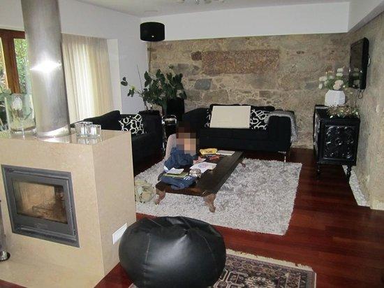 Casa Do Casal Do Carvalhal: Sala