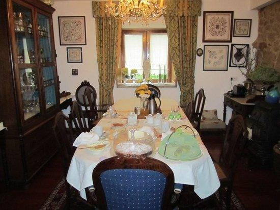 Casa Do Casal Do Carvalhal: Sala de jantar
