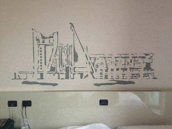 B&B Hotel Firenze Nuovo Palazzo di Giustizia: Particolare della stanza