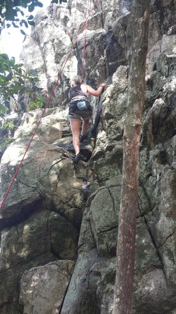 Goodtime Adventures, Koh Tao: Get our climb on