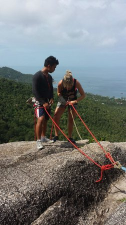 Goodtime Adventures, Koh Tao: Abseiling