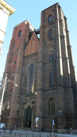 St. Mary Magdalene Church: Костел Св. Марии Магдалины (фронтальная часть)