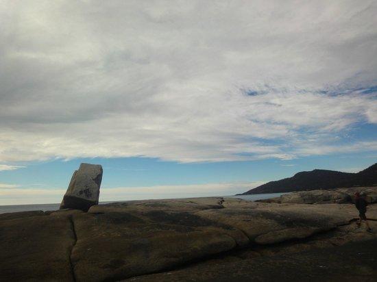 Bicheno Blowhole: Love the view