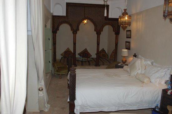 Palacio de las Especias: Dormitorio