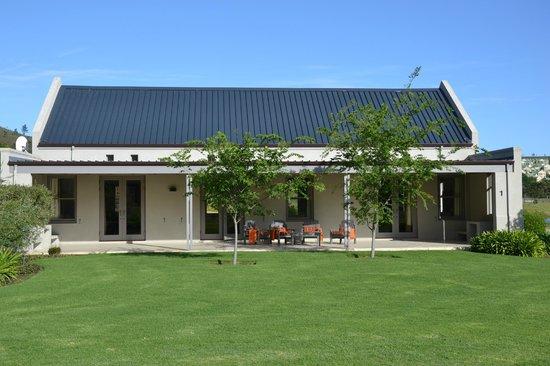 Gaikou Lodge: terrasse