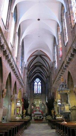 Cathedral of St. John the Baptist: Внутренние интерьеры костела