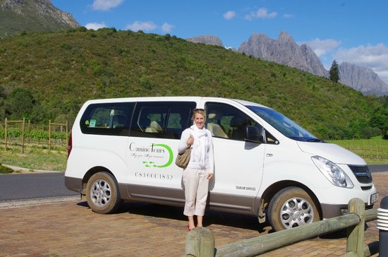 Camino Wine Tours: Luxury Hyundai H1 Bus with Antoinette