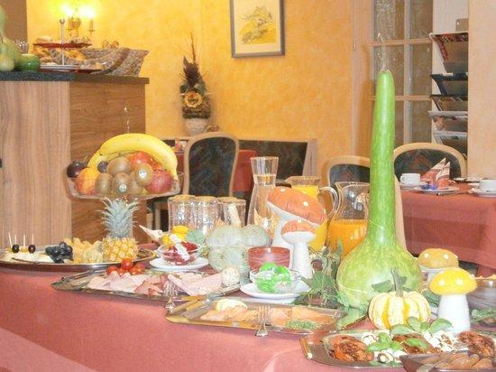 Landhotel Garni Engelhard: La colazione!