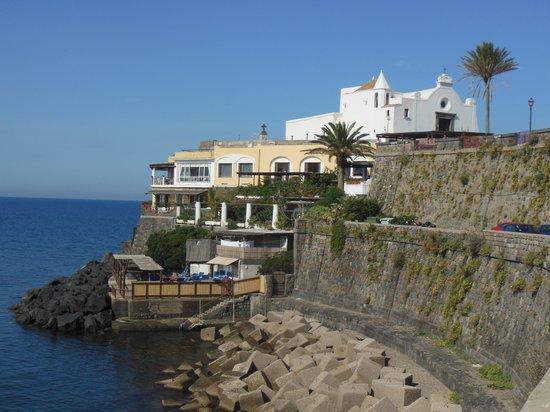 Hotel Umberto a mare: die herrliche Lage vom Umberto a amare