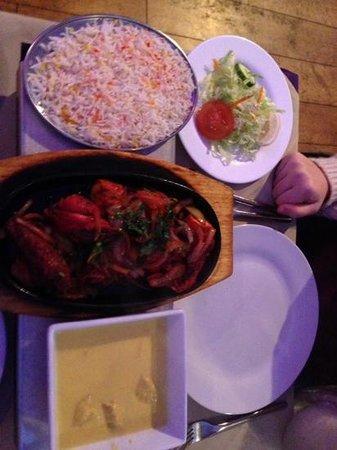 Shad Restaurant: main course