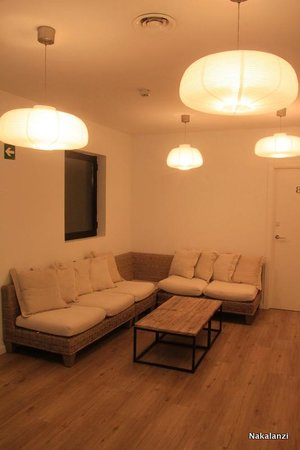 Hotel Acta Madfor : Terrace lounge