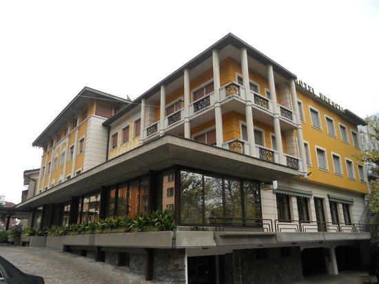 Hotel Brescia: vista dall'esterno
