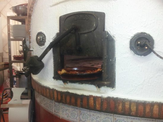 Asador de Antonio: Con un horno así......