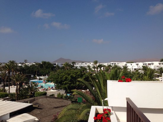 H10 Suites Lanzarote Gardens: View from our room 312