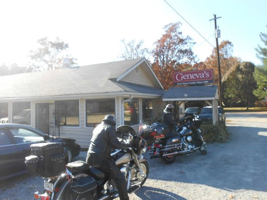 Restaurant Near Cloudland Canyon
