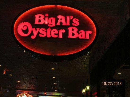 Big Al's Oyster Bar--The Orleans: sign